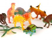 Prehistoric Animal Models (set of 10 toy dinosaurs)