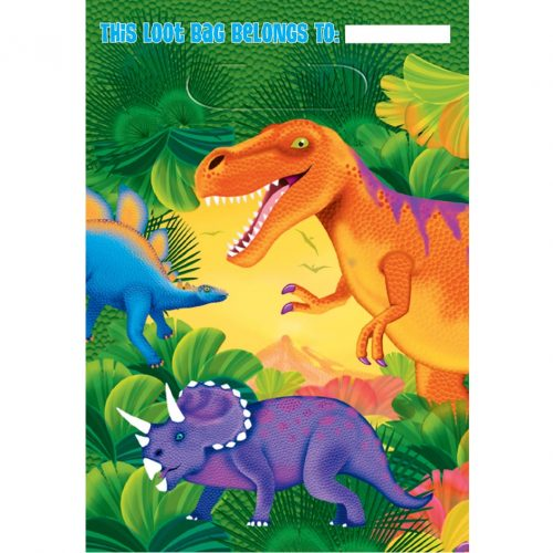 Dinosaur Party Gift Bags (Dinosaur Party Supplies)
