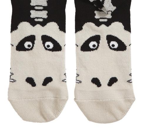T. rex Skeleton Hand Puppet Socks
