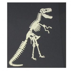 T. rex glow in the dark.