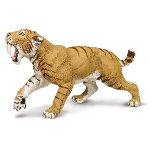 Wild Safari Dinos Smilodon Model