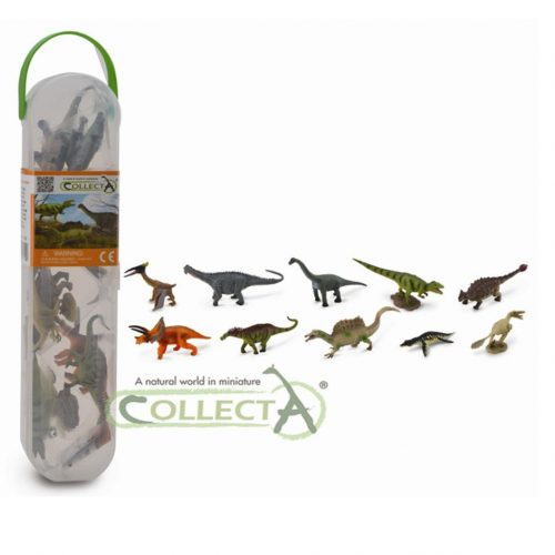 The CollectA mini dinosaurs (set 2).