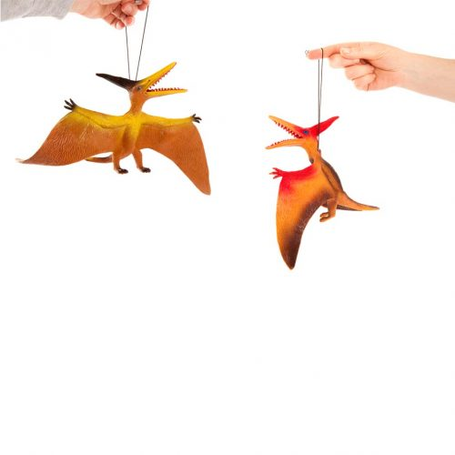 Flying Reptiles - Pair of Pterosaurs (hang from ceiling)