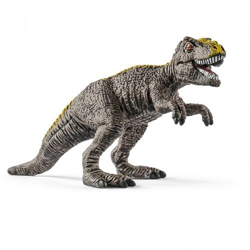 Schleich mini T. rex dinosaur model.