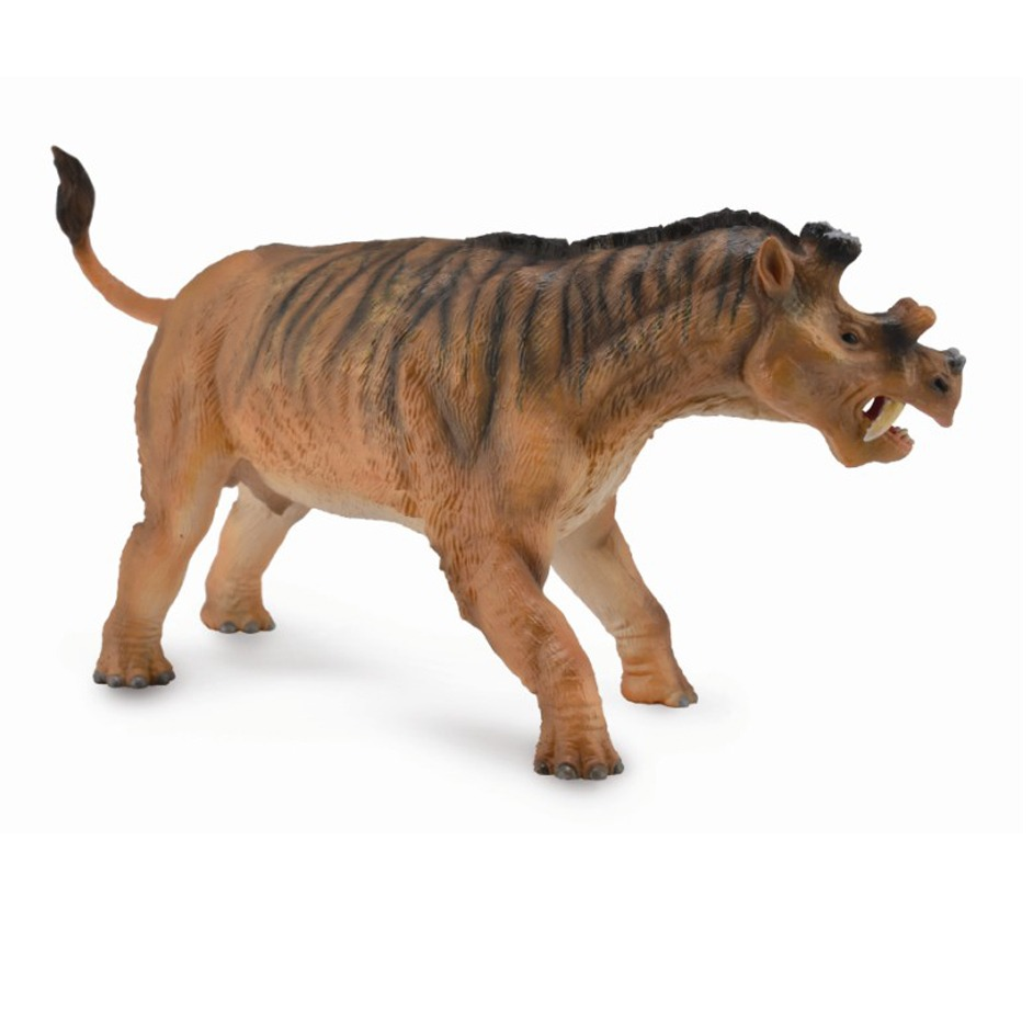 CollectA Deluxe 1:20 Scale Uintatherium model.