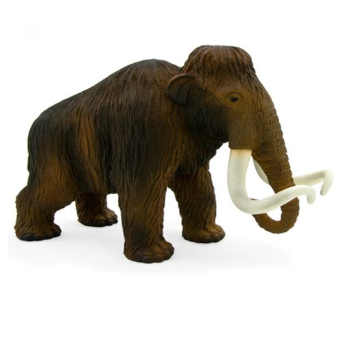 1:20 scale Woolly Mammoth model by Mojo.