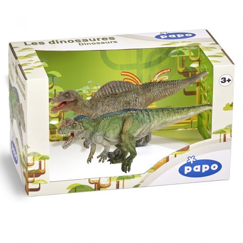 Papo Special Edition Gift Box Papo Juvenile Spinosaurus and Ceratosaurus