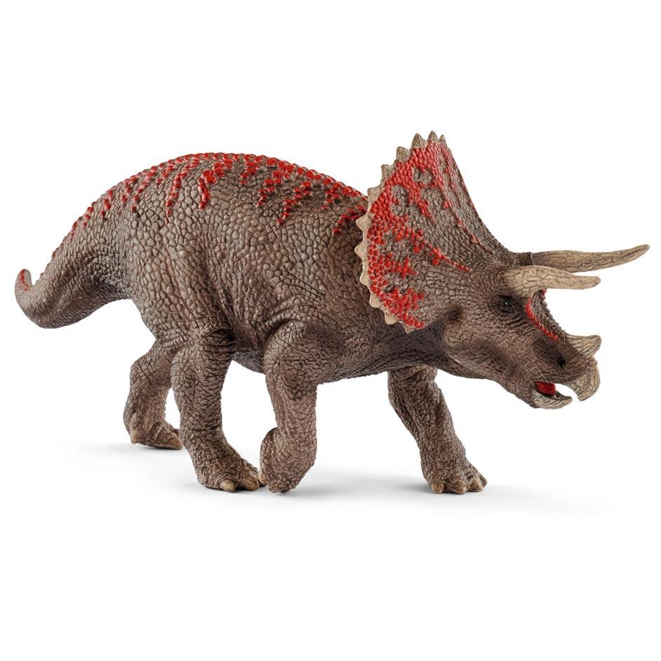 The Schleich Triceratops dinosaur model (2018).