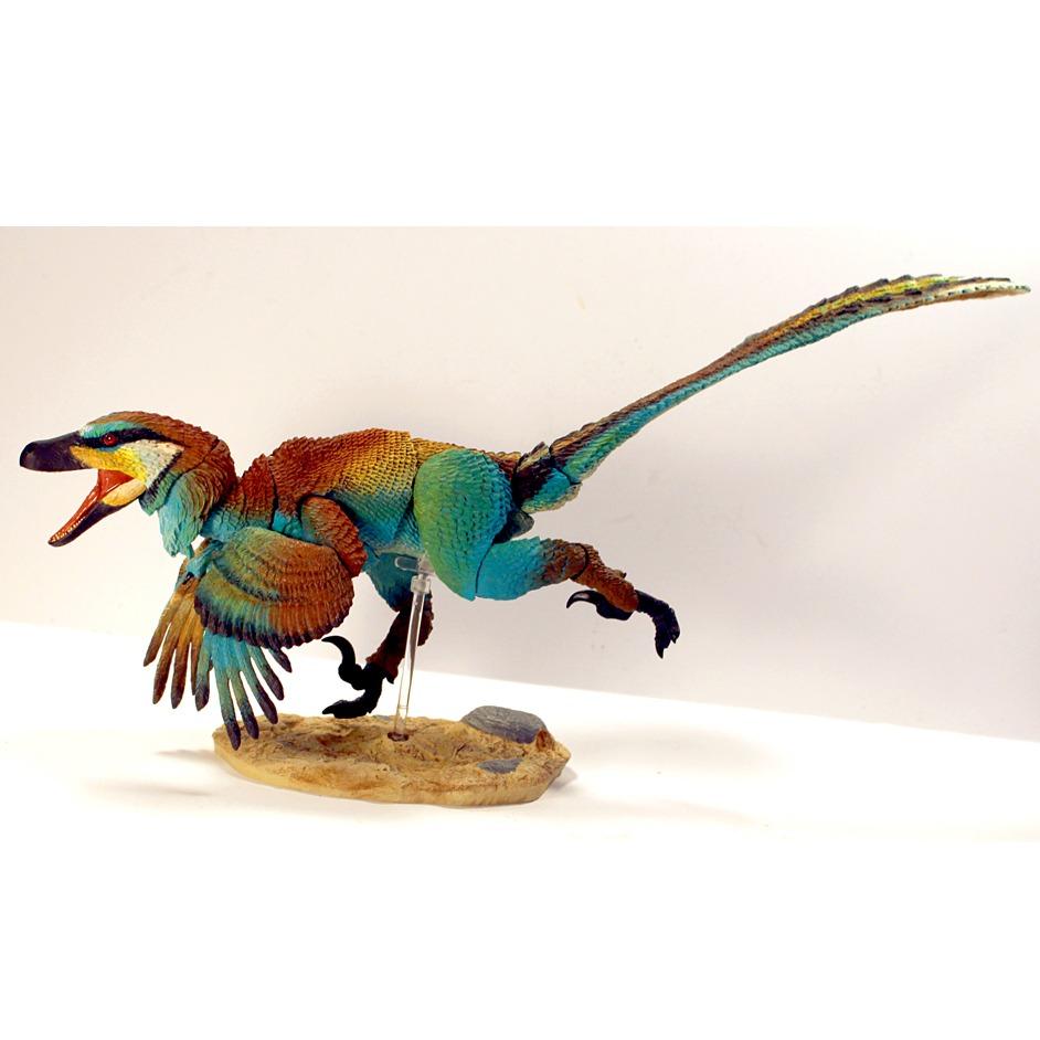 Beasts of the Mesozoic Raptor Series Linheraptor exquisitus 1:6 scale dinosaur figure.