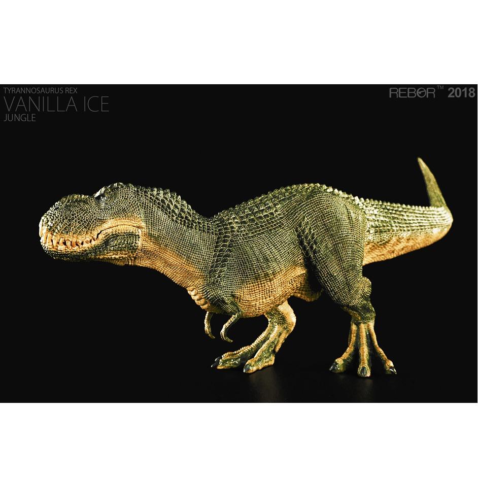 Rebor 1:35 Scale Tyrannosaurus rex Vanilla Ice Jungle
