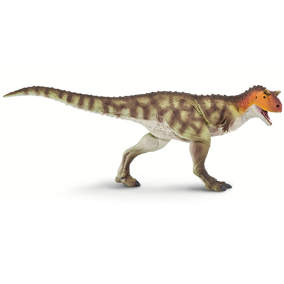Wild Safari Prehistoric World Carnotaurus dinosaur model.