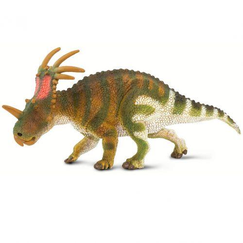 Wild Safari Prehistoric World Styracosaurus figure.