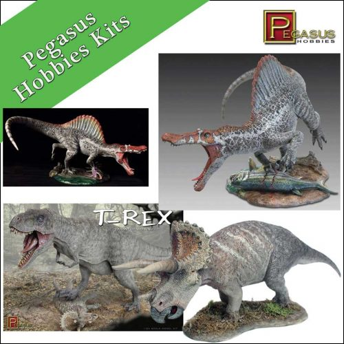 Pegasus Hobbies Dinosaurs (Model Kits)