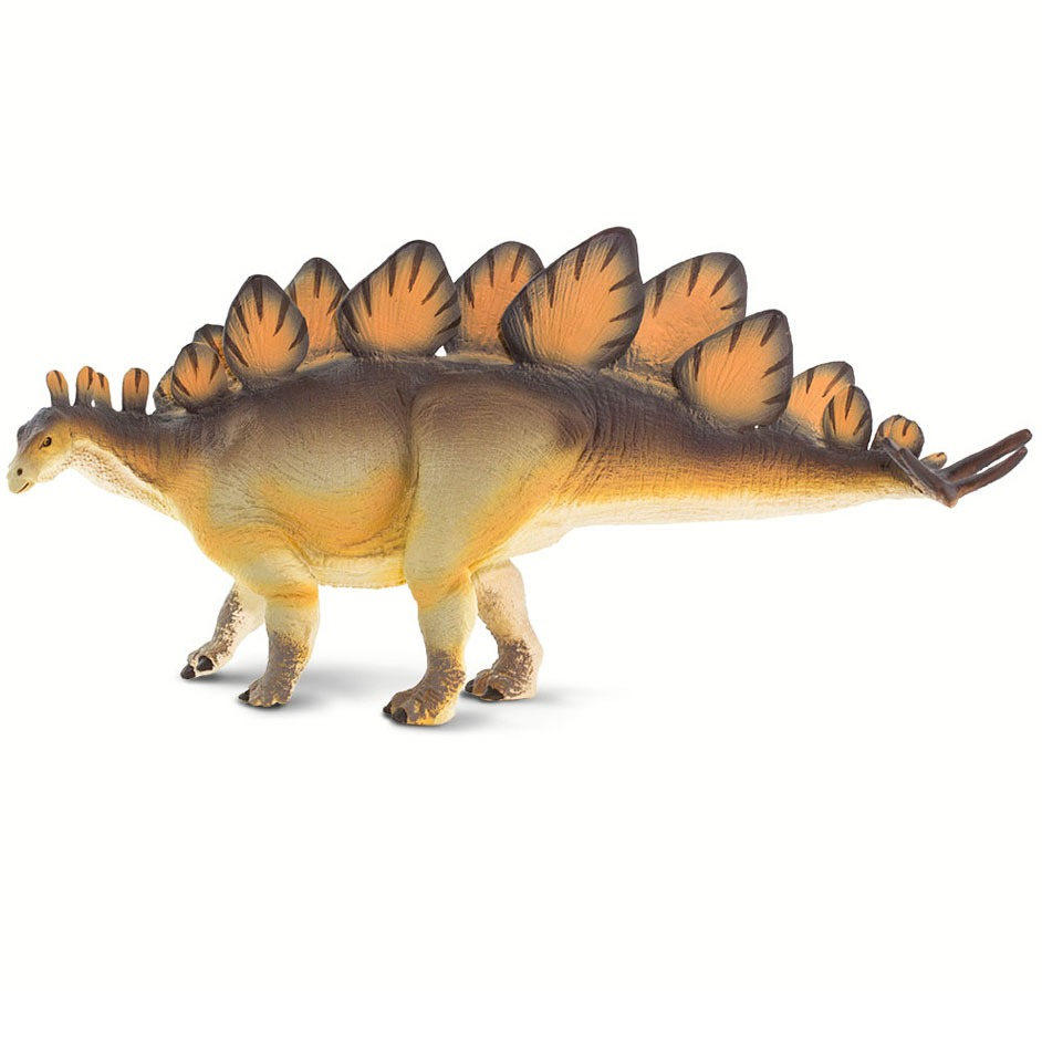 Wild Safari Prehistoric World Stegosaurus model.