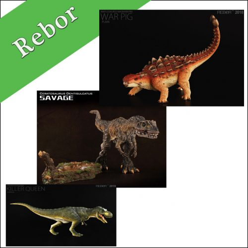 Rebor Dinosaurs and Prehistoric Animal Models