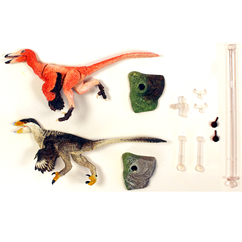 Contents - Beasts of the Mesozoic western pack.
