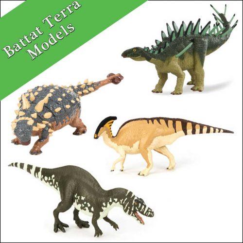 Battat Terra Dinosaur Models