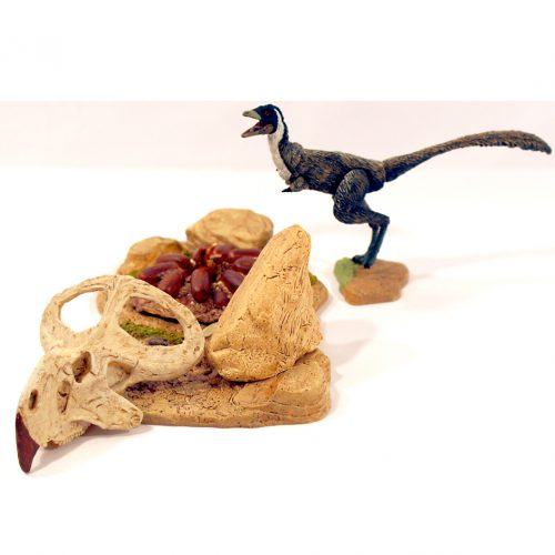 Beasts of the Mesozoic Desert Accessory Pack with Mononykus olecranus.