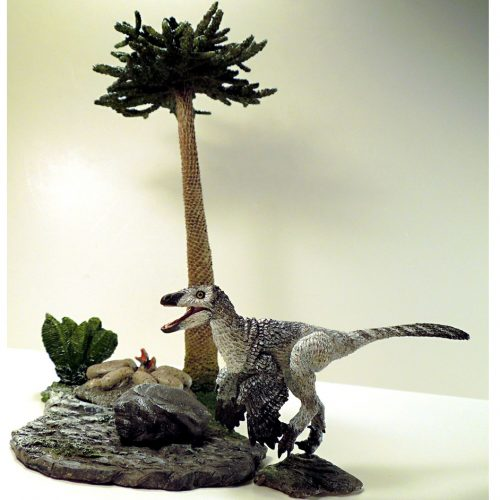 Beasts of the Mesozoic Mountains Environment with Troodon.