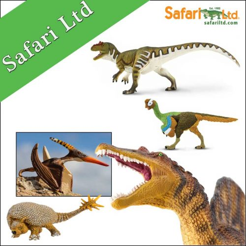 Safari Ltd. Wild Safari Prehistoric World