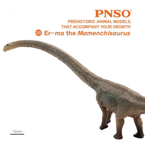 PNSO Er-ma the Mamenchisaurus dinosaur model.