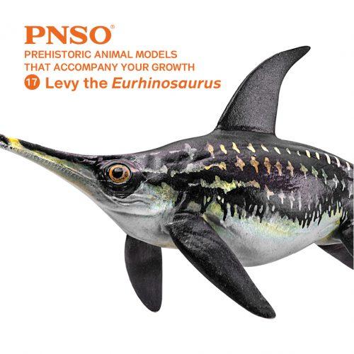 PNSO Levy the Eurhinosaurus marine reptile model.