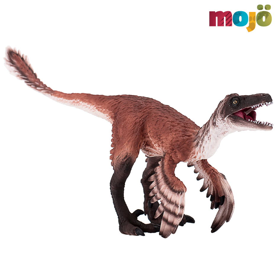 Mojo Fun Prehistoric Life Troodon with articulated jaw