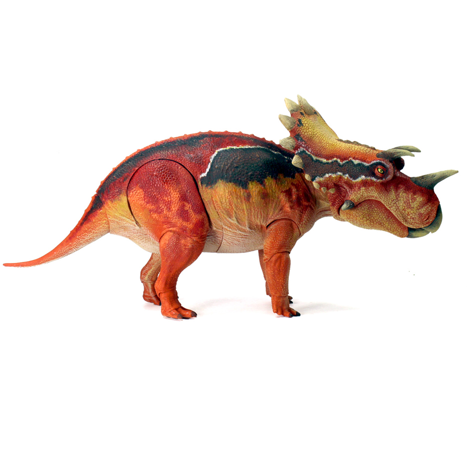 Beasts of the Mesozoic Regaliceratops articulated dinosaur figure.